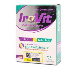کپسول آهن آیروویت ویتان VITANE IroVit | داروخانه شبانه روزی ستاره