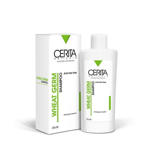 شامپو جوانه گندم سریتا مناسب انواع مو | CERITA