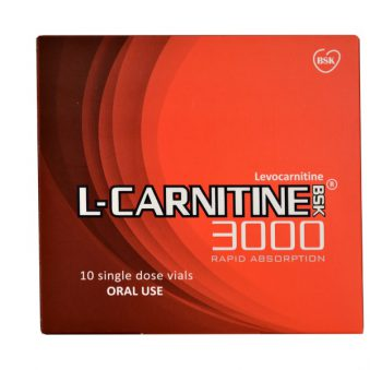 ویال خوراکی ال کارنیتین 3000 بنیان سلامت کسری