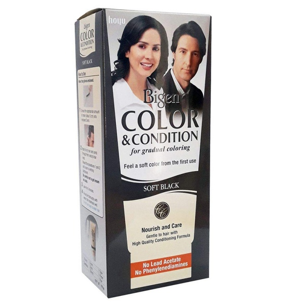 کیت رنگ مو دودی SOFT BLACK بیگن