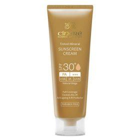 کرم ضد آفتاب رنگی بژ طبیعی SPF30 مناسب پوست های حساس سینره