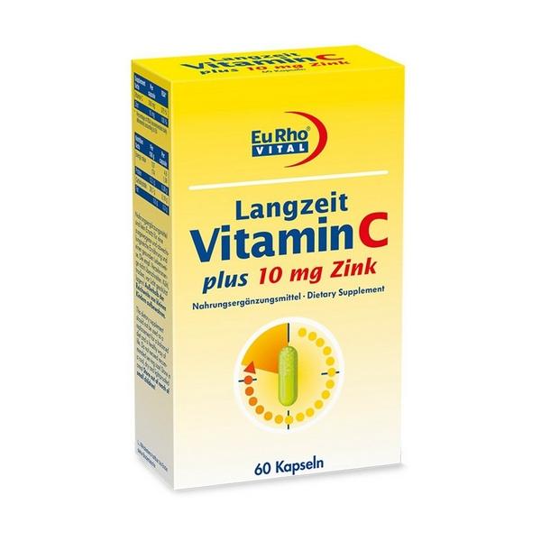 کپسول ویتامین ث و روی 10 یورو ویتال