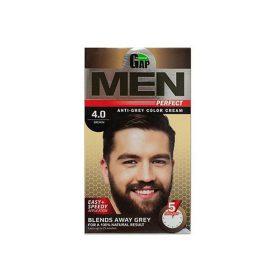 کرم رنگ مو قهوه ای 4.0 مردانه پرفکت گپ