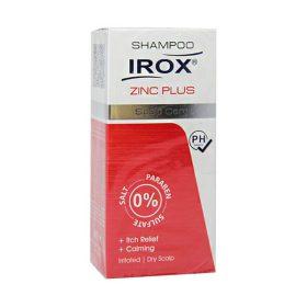 شامپو مراقبت از پوست سر زینک پلاس ایروکس