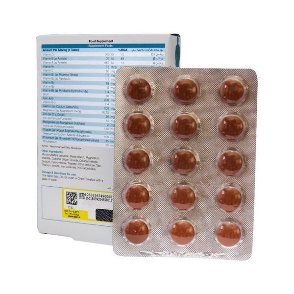 قرص مولتی ویتامین بایوبیسیکس آقایان نیچرز اونلی