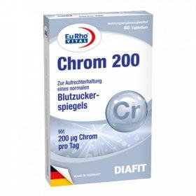 قرص کروم 200 میکروگرم یورو ویتال