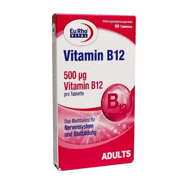 قرص ویتامین ب12 یورو ویتال