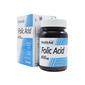 قرص فولیک اسید 400 هلث اید