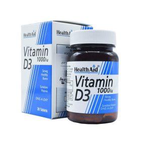 قرص ویتامین د3 1000 هلث اید