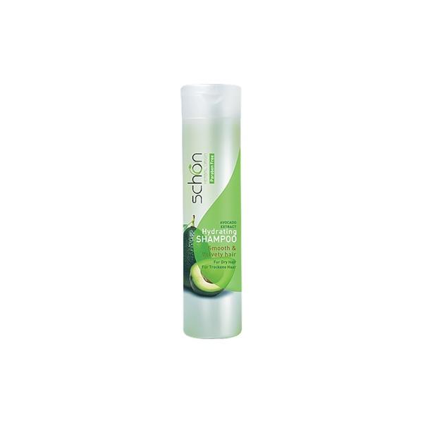 شامپو مرطوب کننده حاوی عصاره آووکادو مناسب موهای خشک ۴۰۰ میلی لیتر شون