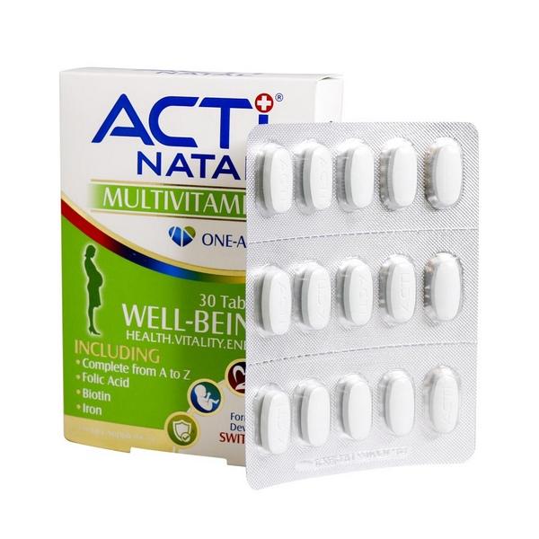 قرص مولتی ویتامین اکتی ناتال لیبرتی