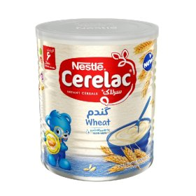 سرلاک گندم به همراه شیر نستله