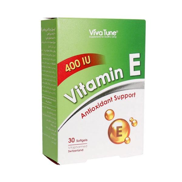 سافت ژل ویتامین ای 400 ویوا تیون