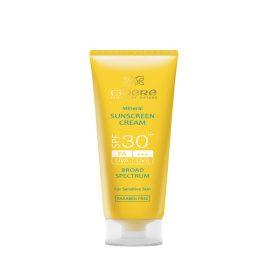 کرم ضد آفتاب بدون رنگ SPF30 مناسب پوست حساس سینره