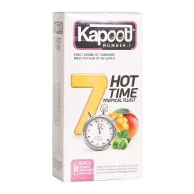 کاندوم 7 کاره گرم 12 عددی کاپوت