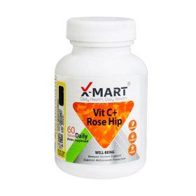 قرص ویتامین سی پلاس رز هیپ ایکس مارت