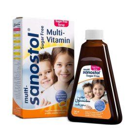 شربت مولتی ویتامین بدون قند سانستول
